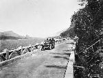 Driving near Multnomah Falls, OrHi 71191, bb016838