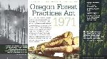 1971—Oregon Forest Practices Act
