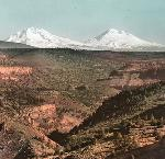 The Three Sisters, John Yeon Lantern Slide Collection