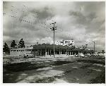 Exterior of Columbia Park Store (near University of Portland), circa 1942 Coll 199 b12.12