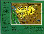Cartoon map showing the Pacific Northwest and the locations of Fred Meyer stores. Coll 199 b19.f6