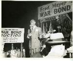 Prizes at a Fred Meyer-sponosred War Bond Auction. Coll 199 b32.f22