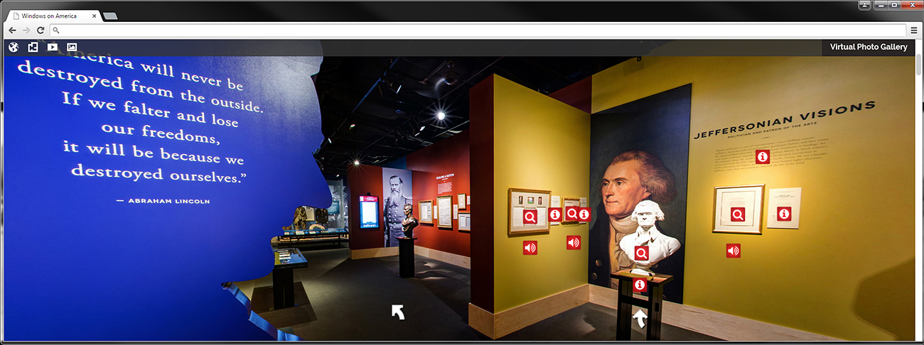 windows on america online exhibit