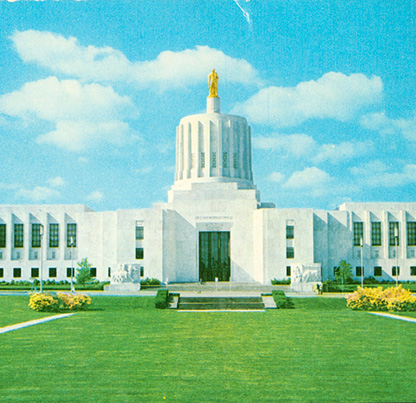 Oregon State Capitol, Salem. OHS Research Library, Org Lot 146, b06 4