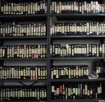 U-matic videotape collection of the Rajneesh movement in Oregon, donated to OHS in 1989.