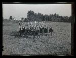 Soldiers from Lord Strathcona's horse regiment, 1938 Oregon Journal Negative Collection, Org. Lot 1368 0374N1193