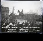 Dedication Exercises for the Roosevelt Statue - Portland OR - November 11, 1922 Delano/Acme Collection, Acc# 18915, Del# 7493.