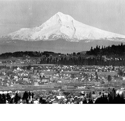 Mt. Hood & Mt. Tabor, 1903. Kiser Photo Co. photographs, 1901-1927. Org. Lot 140; b4.f26; 3088 bb000227