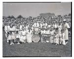 Beaumont School band. OHS Research Library, Oregon Journal Negative Collection; Org. Lot 1368; Box 371; 371N2817