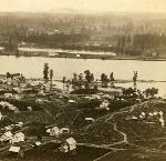 Panorama of Portland and the Willamette River, Oregon. No. 4. (Stereograph 1204) Carleton E. Watkins photographs; Org. Lot 93; b1.f20 ba021589