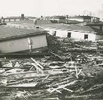 Damage from the Vanport Flood. bb014262 Org. Lot 1364