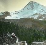 Mt. Hood (date unknown), Lantern Slide Collection, Box 10, No. 19. Weister Company