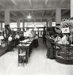Interior of Olds, Wortman and King department store, Portland, OR,  c. 1911-1914 Olds, Wortman, and King Photograph Album, Album 431